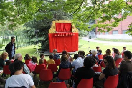 giardino della Triennale prima dello spettacolo - Copia